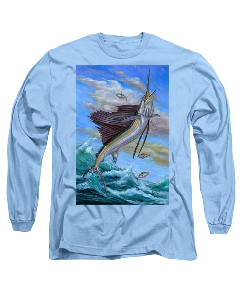 Jumping Sailfish Long Sleeve T-Shirt