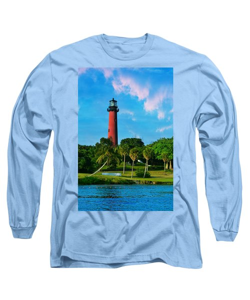 Jupiter Florida Lighthouse Long Sleeve T-Shirt