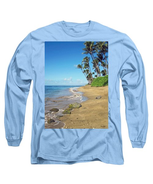 Ka'anapali Beach Long Sleeve T-Shirt