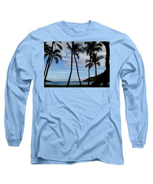 Kalapaki Beach Kauai Long Sleeve T-Shirt