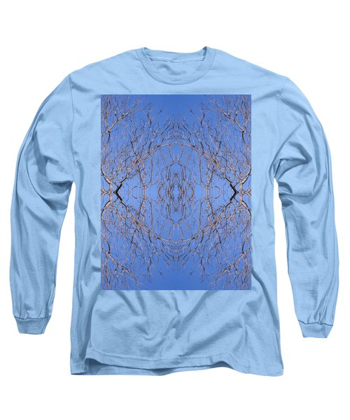 Kaleidoscope - Trees 1 Long Sleeve T-Shirt by Andy Shomock