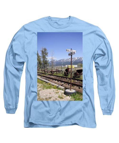 Kalispell Crossing Long Sleeve T-Shirt by Fran Riley