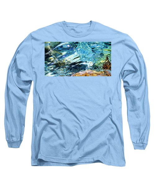 Kanaloa Abstract Long Sleeve T-Shirt by David Lawson