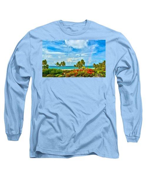 Kauai Bliss Long Sleeve T-Shirt by Marie Hicks