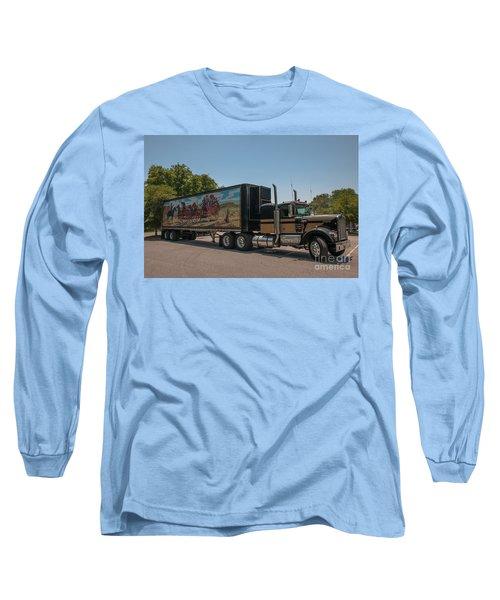 Keep Those Wheels A Truckin Long Sleeve T-Shirt
