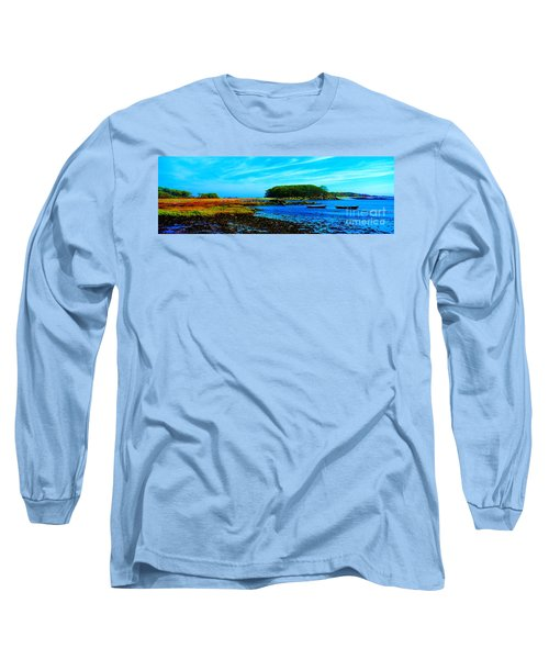 Kennebunkport  Vaughn Island  Long Sleeve T-Shirt