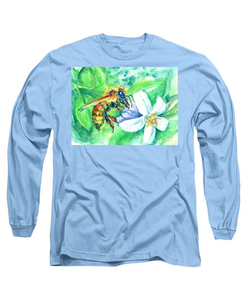 Key Lime Honeybee Long Sleeve T-Shirt