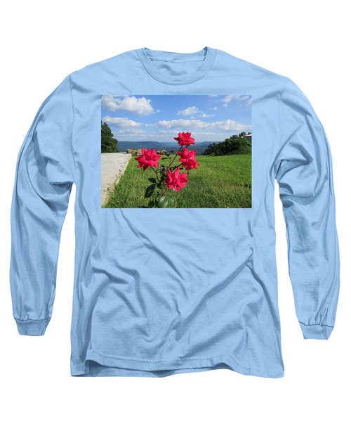Knock Out Rose Long Sleeve T-Shirt