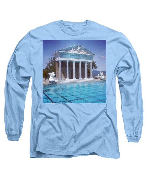 La Dolce Vita At Hearst Castle - San Simeon Ca Long Sleeve T-Shirt