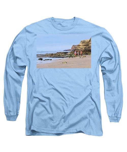 La Jolla Beach Walk Long Sleeve T-Shirt