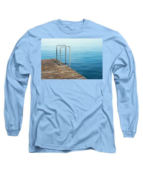 Long Sleeve T-Shirt featuring the photograph Ladder by Chevy Fleet