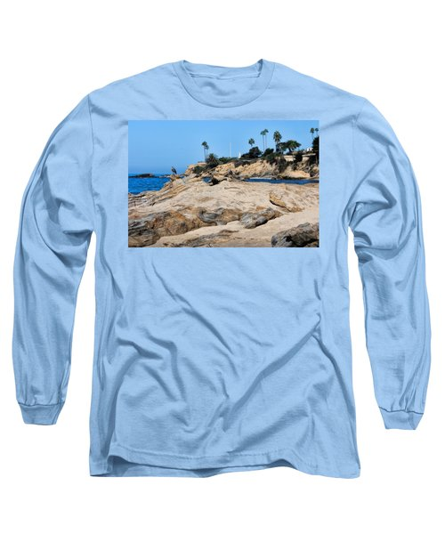 Long Sleeve T-Shirt featuring the photograph Laguna by Tammy Espino