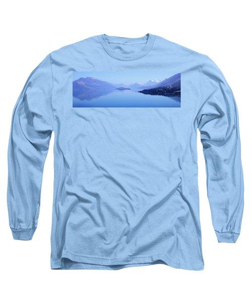 Lake Glenorchy New Zealand Long Sleeve T-Shirt