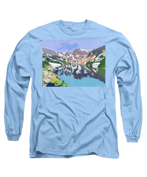 Lake Isabelle Colorado Long Sleeve T-Shirt by Dan Miller