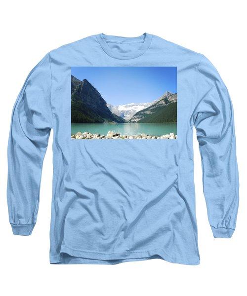 Lake Louise Alberta Canada Long Sleeve T-Shirt