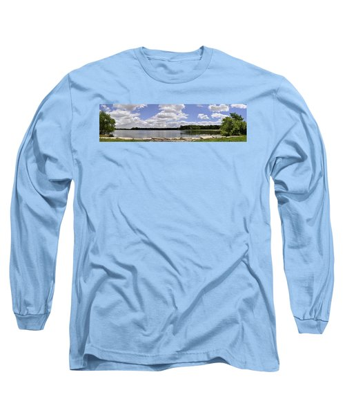 Long Sleeve T-Shirt featuring the photograph Lake Of Dreams by Verana Stark