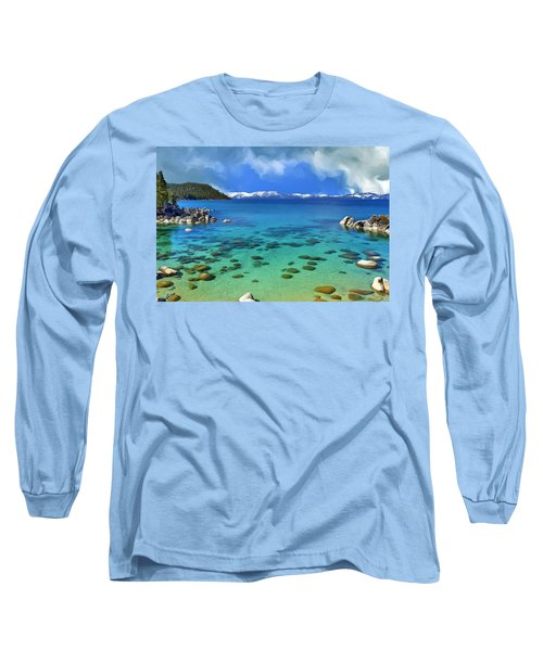 Lake Tahoe Cove Long Sleeve T-Shirt