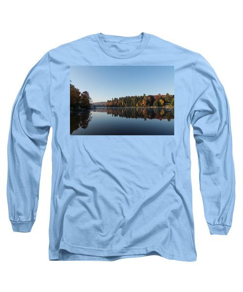 Lakeside Cottage Living - Peaceful Morning Mirror Long Sleeve T-Shirt