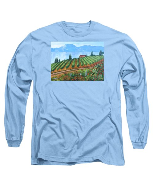 Lakeside Vineyard Long Sleeve T-Shirt