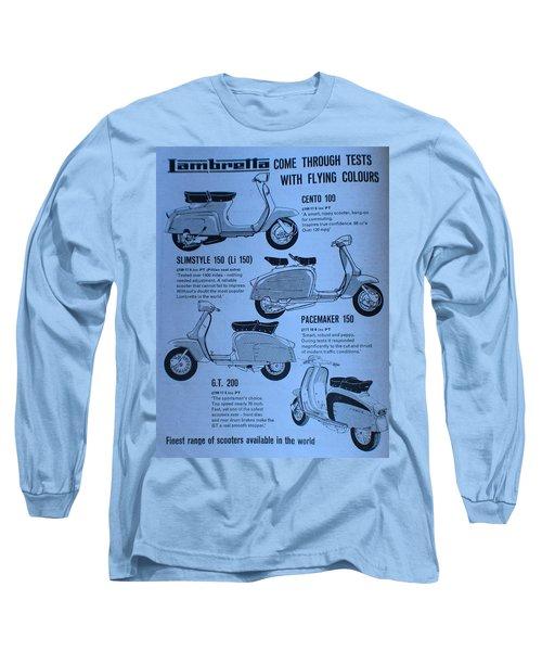 Lambretta Style Long Sleeve T-Shirt