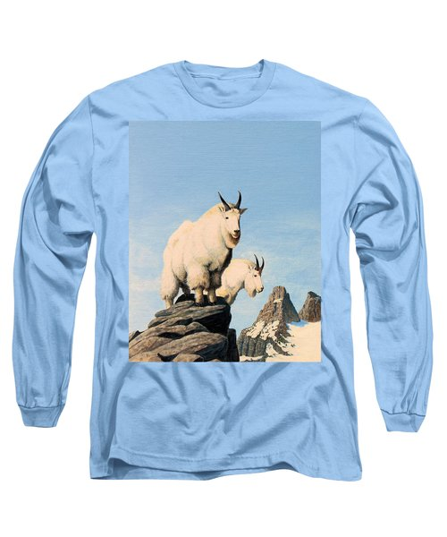 Lamoille Goats Long Sleeve T-Shirt