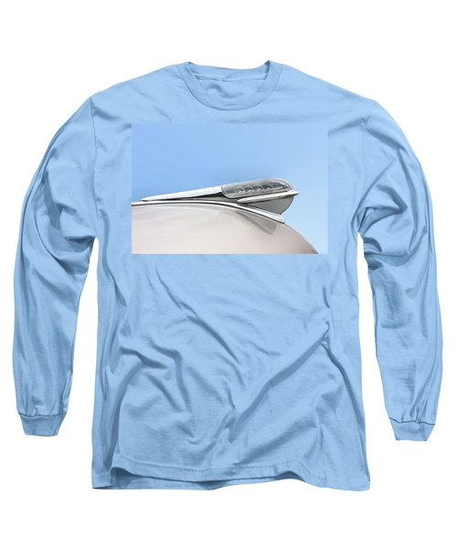 Long Sleeve T-Shirt featuring the photograph Land Yacht Hood Ornament by Kristin Elmquist