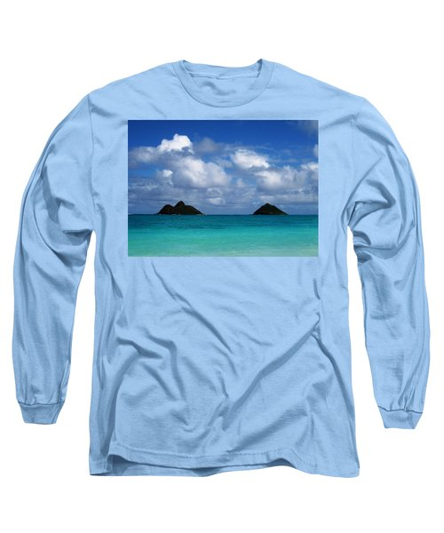 Lanikai Long Sleeve T-Shirt by Art Shimamura