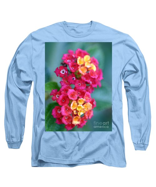 Long Sleeve T-Shirt featuring the photograph Lantana by Henrik Lehnerer