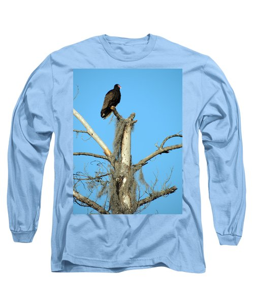 Larry Buzzard Vulture Long Sleeve T-Shirt
