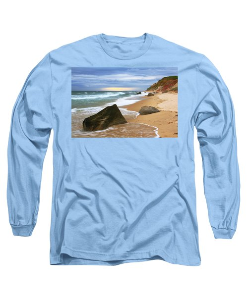 Long Sleeve T-Shirt featuring the photograph Last Light Before The Storm by Roupen  Baker