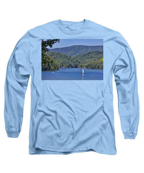 Late Summer Cruising  Long Sleeve T-Shirt by Tom Culver
