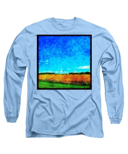 Lazy Clouds In The Summer Sun Long Sleeve T-Shirt