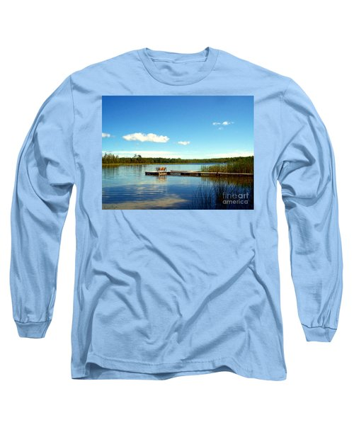 Lazy Summer Day Long Sleeve T-Shirt by Desiree Paquette