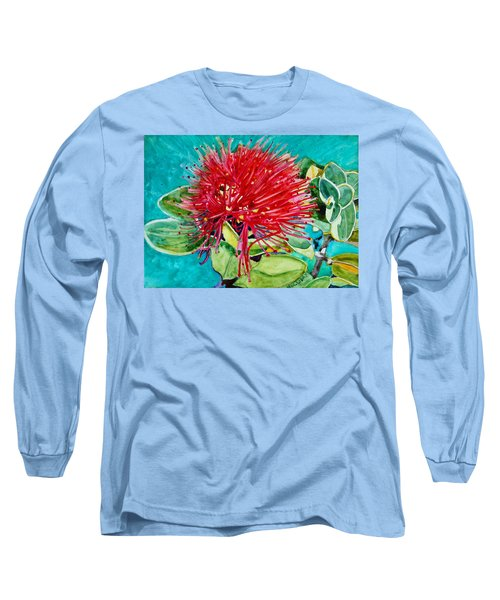 Lehua Blossom Long Sleeve T-Shirt