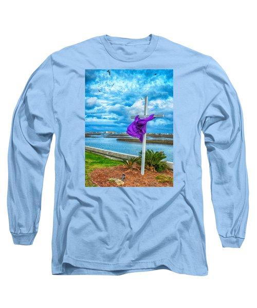 Long Sleeve T-Shirt featuring the photograph Lentin Cross by Bill Barber