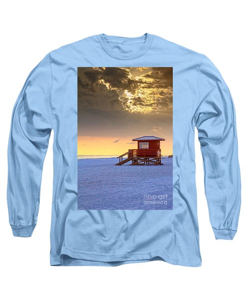 Life Guard 1 Long Sleeve T-Shirt by Marvin Spates