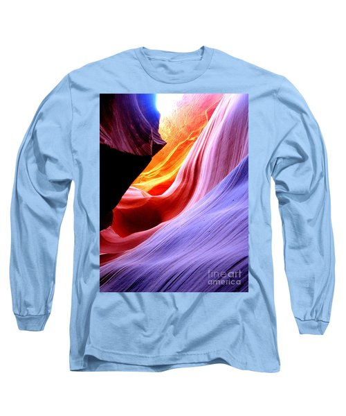 light symphony of Antelope canyon Long Sleeve T-Shirt