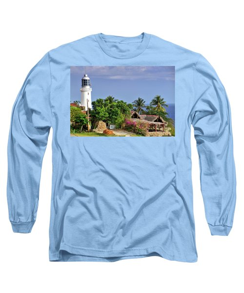 Lighthouse Santiago De Cuba Long Sleeve T-Shirt