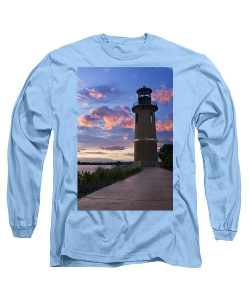 Long Sleeve T-Shirt featuring the photograph Lighthouse by Sonya Lang
