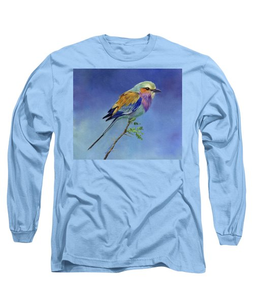 Lilacbreasted Roller Long Sleeve T-Shirt