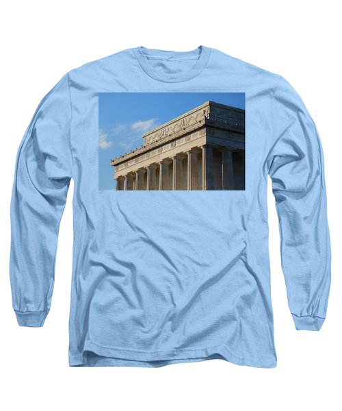 Lincoln Memorial - The Details Long Sleeve T-Shirt