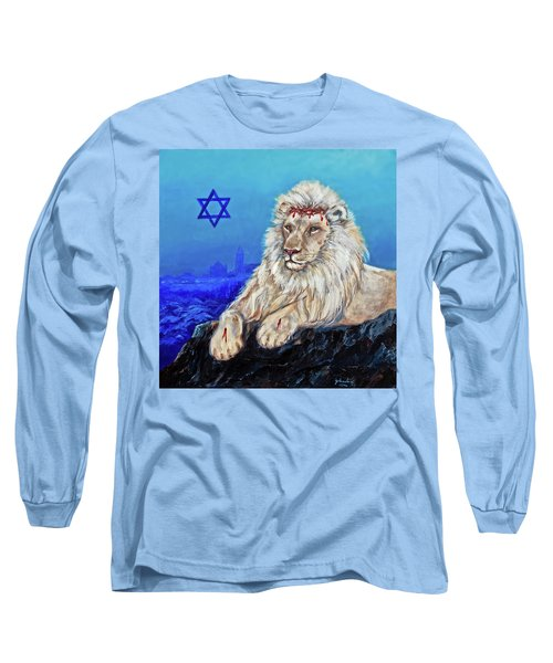 Lion Of Judah - Jerusalem Long Sleeve T-Shirt