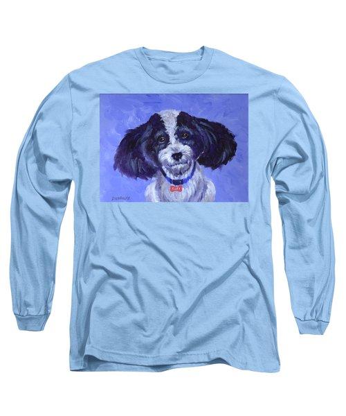 Little Dog Blue Long Sleeve T-Shirt