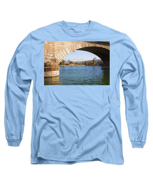 London Bridge At Lake Havasu City Long Sleeve T-Shirt