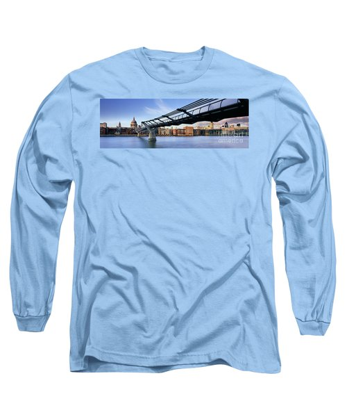 Millennium Bridge London 1 Long Sleeve T-Shirt