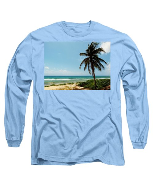Long Sleeve T-Shirt featuring the photograph Lone Tree by Amar Sheow