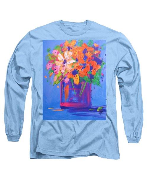 Loosey Goosey Flowers Long Sleeve T-Shirt
