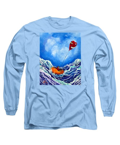 Love's Castaway Long Sleeve T-Shirt by Jackie Carpenter