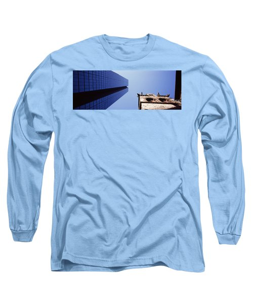 Low Angle View Of The Hancock Building Long Sleeve T-Shirt
