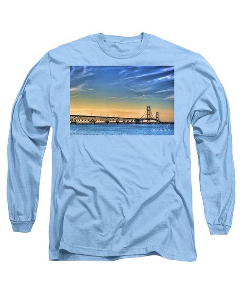 Mackinac Sunset Long Sleeve T-Shirt